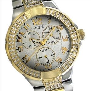 Guess Gold and Silver Women's Watch